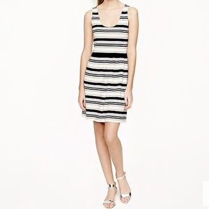 J. Crew villa dress in stripe